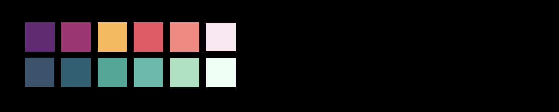 farver + font